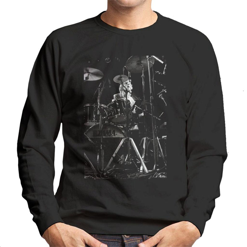 Stewart Copeland Of The Police Men's Sweatshirt - Don't Talk To Me About Heroes