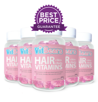 VITBEARS® Hair Vitamins - 6 for 4 (360 BEARS)