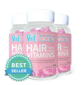 VITBEARS® Hair Vitamins - 3 for 2 (180 Bears)