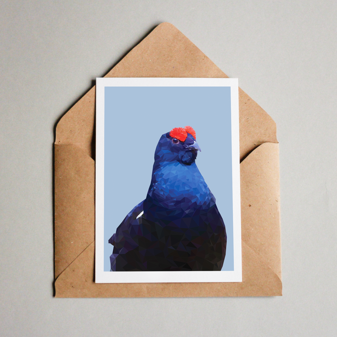 Black Grouse Card