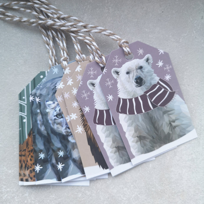 Gift tags - set of 8