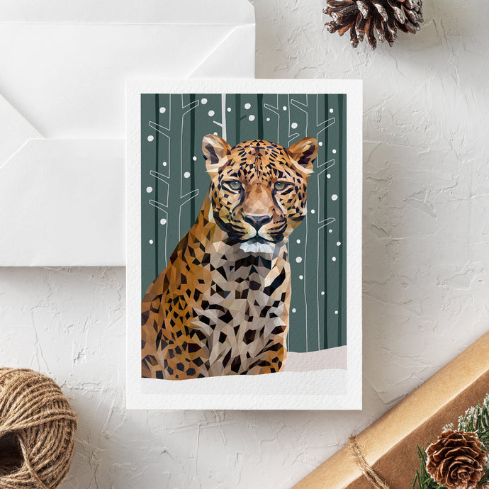Jaguar Christmas Card