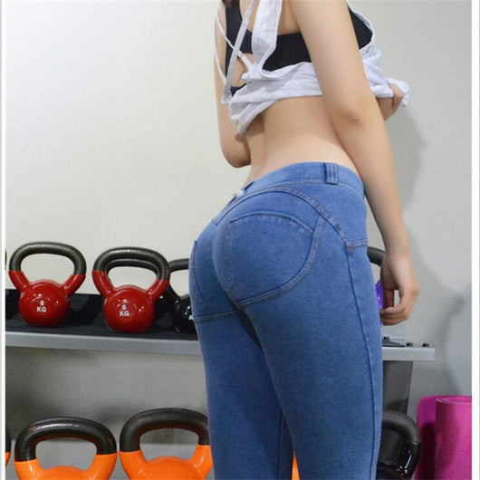 Sexy Push Up Butt Booty Jeans