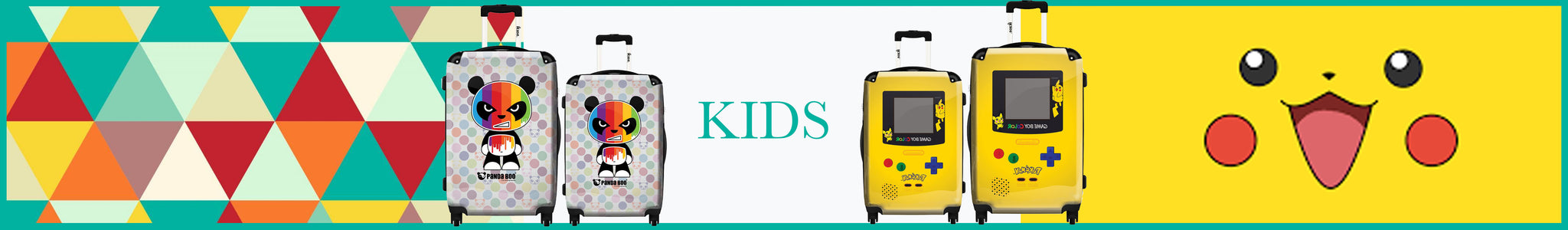 kids suitcase collection by ikaseusa.com