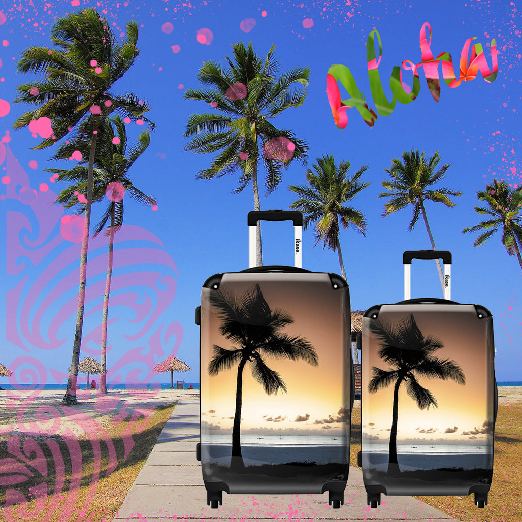Palm beach suitcase by Ikase