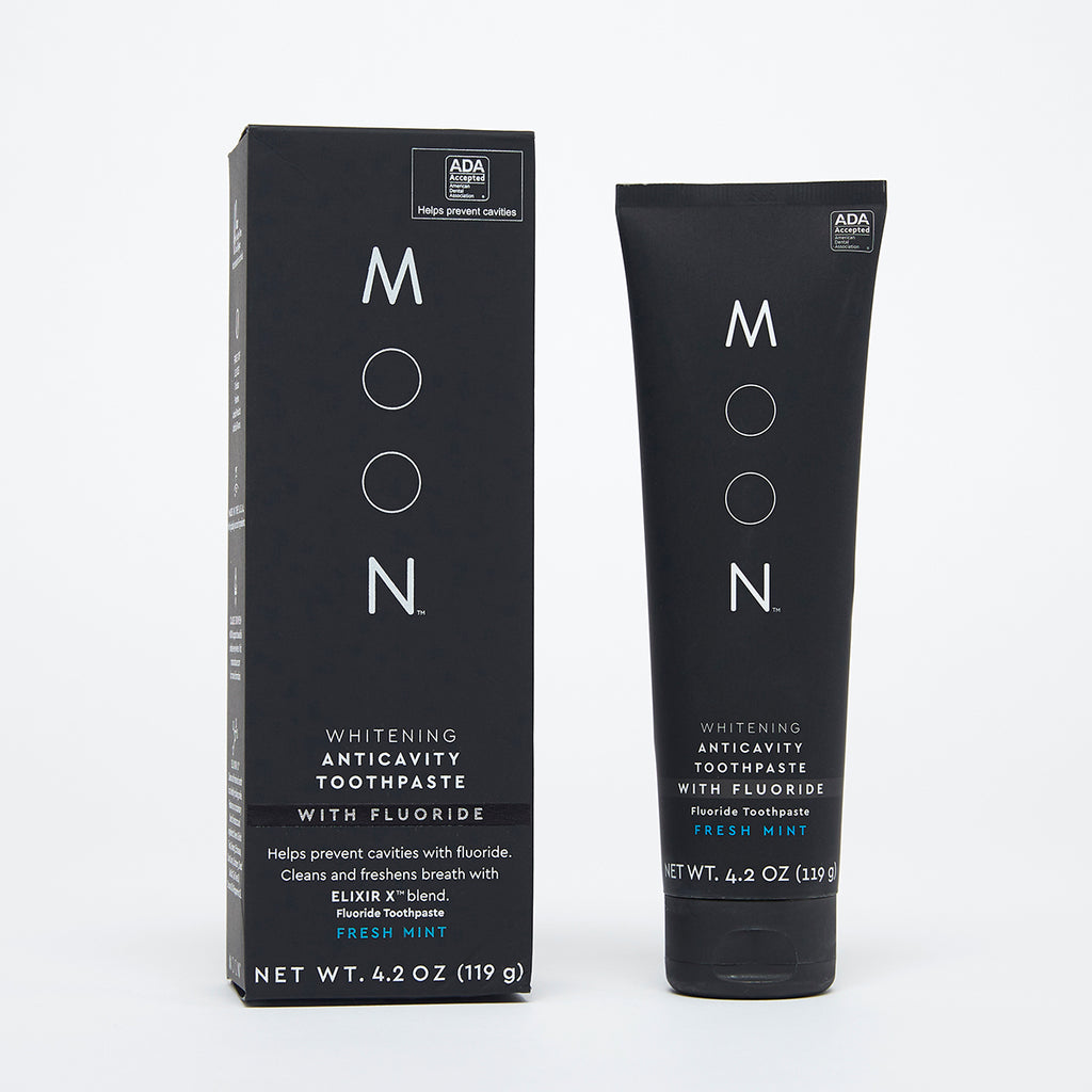 Moon Oral Care Anticavity With Fluoride Whitening Toothpaste