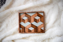 Higher Dimensions Wood Tray