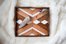 Calico Wood Tray