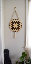 Kehaar - Round Macrame Wood Wall Art Hanging
