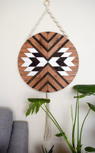 Mantra - Round Macrame Wood Wall Art Hanging