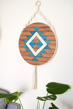 Ojai - Round Macrame Wood Wall Art Hanging