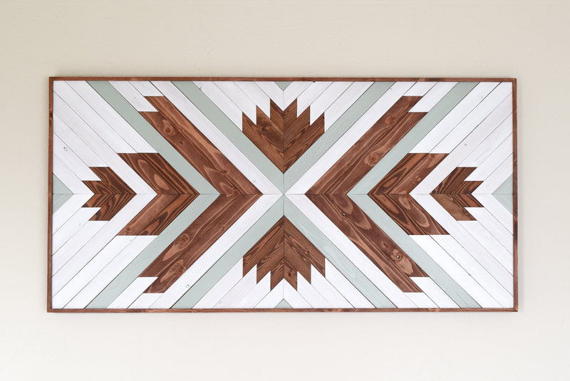 CASIMIRO Wood Wall Art - Wooden Wall Art - Geometric Wood Art - Wooden Wall Art Hanging - Modern Wood Art - Boho Wood Art - Wood Wall Decor