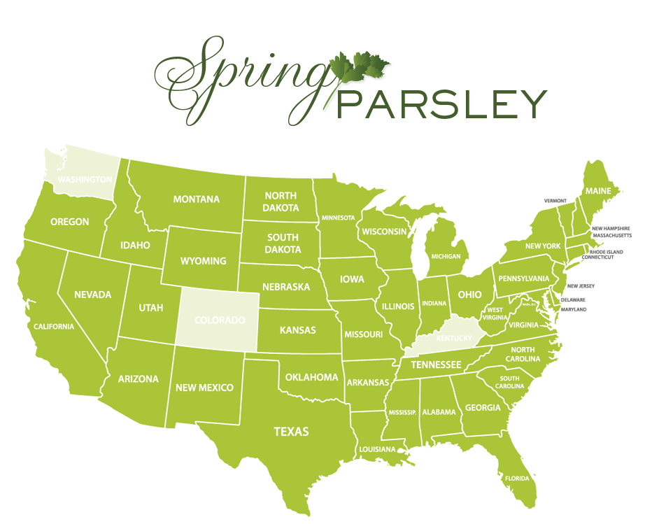 Jessica Haas Designs- Where to find parsley locally in spring