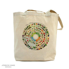 Jessica Haas Designs New Mexico Seasonal Grocery Tote Bag
