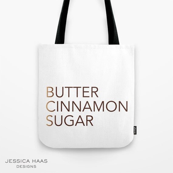 Cinnamon Recipe Tote