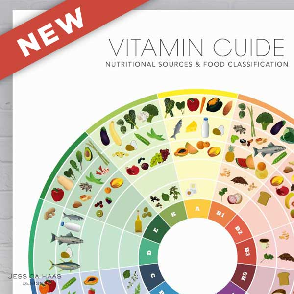 NEW - Vitamin Food Guide PRE-ORDER