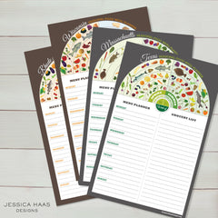 Pick Your State Menu & Grocery Planner Sets