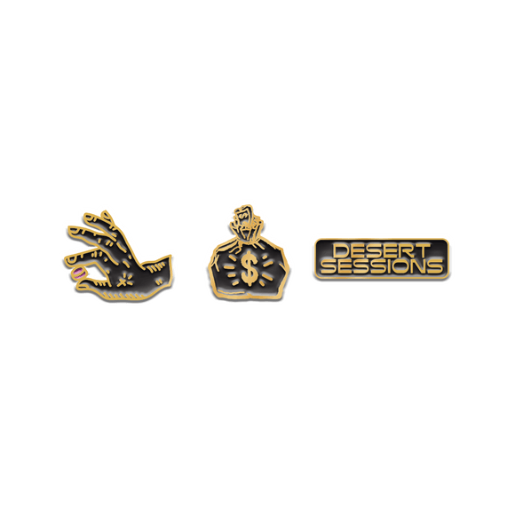Desert Sessions Pin Set