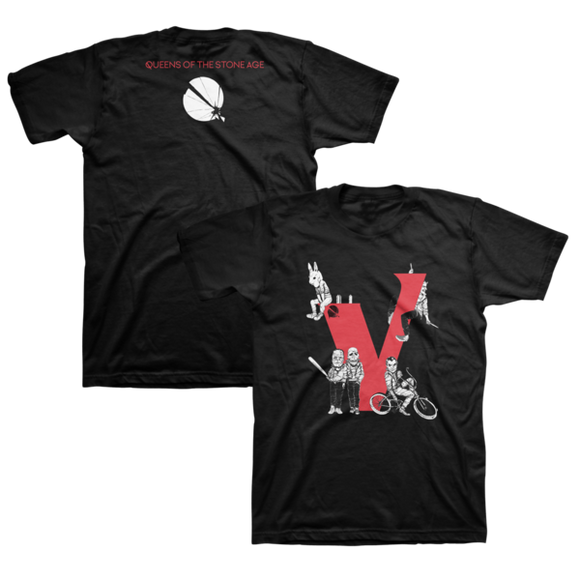 Kid Gang Villains Tee - Queens of the Stone Age