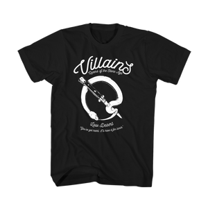 Snake Q 'Villains' Tee - Queens of the Stone Age