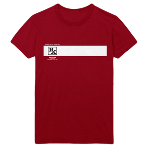 Rated R Tee - Cardinal Red - Queens of the Stone Age