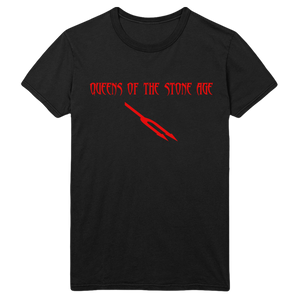 Deaf Songs Tee - Black - Queens of the Stone Age