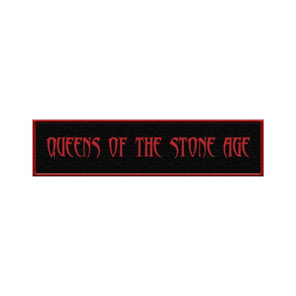 QOTSA Logo Patch - Red
