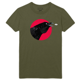 Raven Enzyme Wash Tee - Queens of the Stone Age
