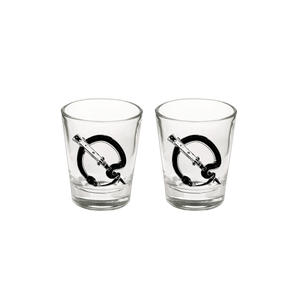 Snake Q Shot Glass - Queens of the Stone Age