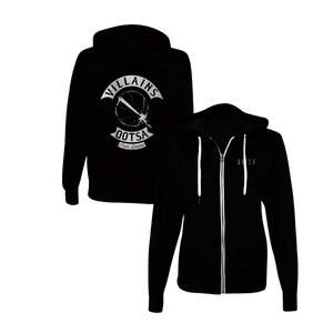 Villains Biker Zip-Up Hoodie