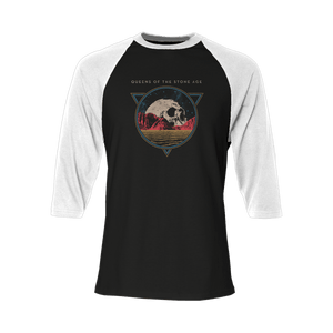 Skull Raglan - Queens of the Stone Age