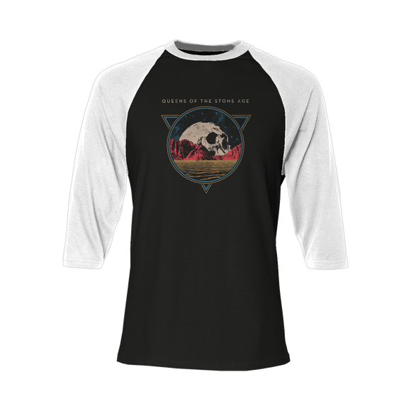 Planet Skull Raglan - Queens of the Stone Age