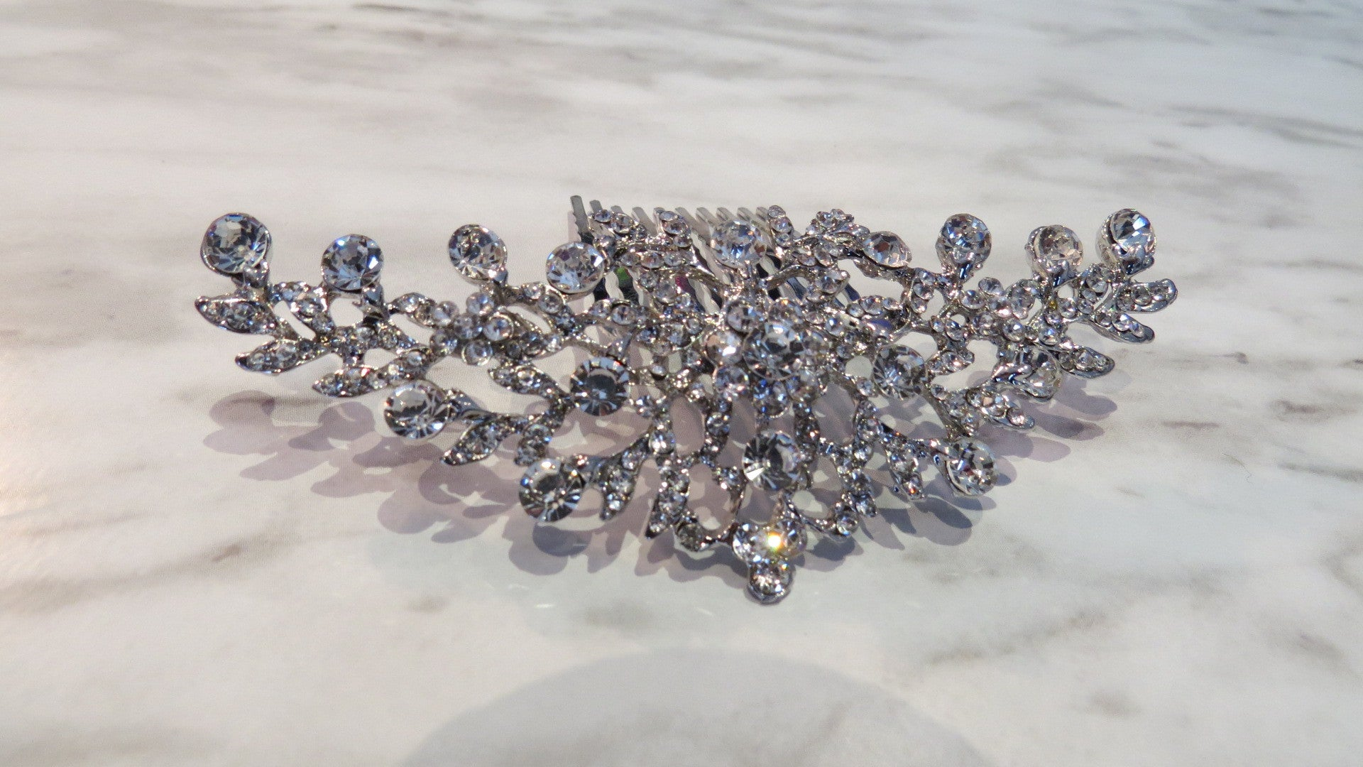 Stunning Crystal Hairpiece - FabFunBride