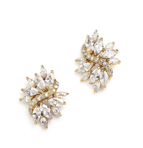 Marquis Stud Bridal Jewelry