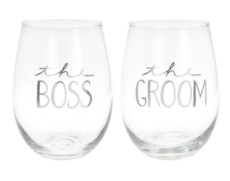 Copy of Thelma & Louise Wine Glass - FabFunBride