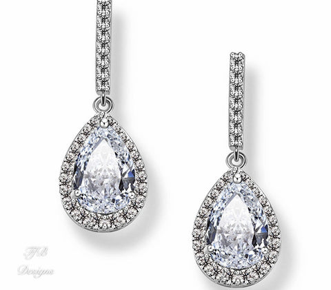Prato Water Drop Earrings - FabFunBride