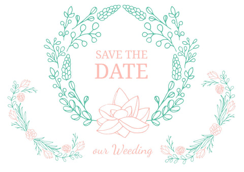 Save the Date #02993 - FabFunBride