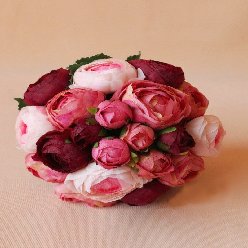 Elegant Handmade Artificial Flower Bouquet Bridal - FabFunBride