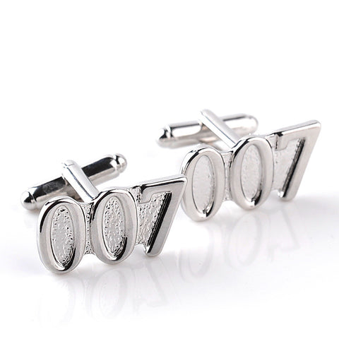 007 James Bond Cufflinks Groomsmen, Groom, Father of the Bride, Best Man - FabFunBride