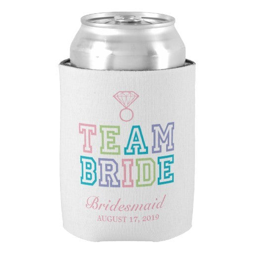 Team Bride Custom Monogram - FabFunBride