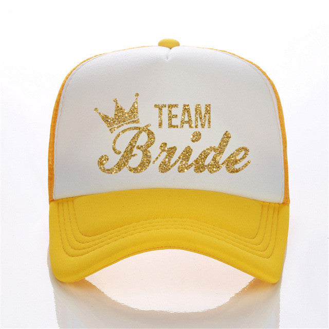 Team Bride Hats 10 colours - FabFunBride