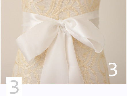 Luxury custom wedding belt, Bridal Sash - FabFunBride