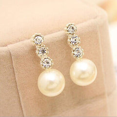 Pearl Earrings - FabFunBride