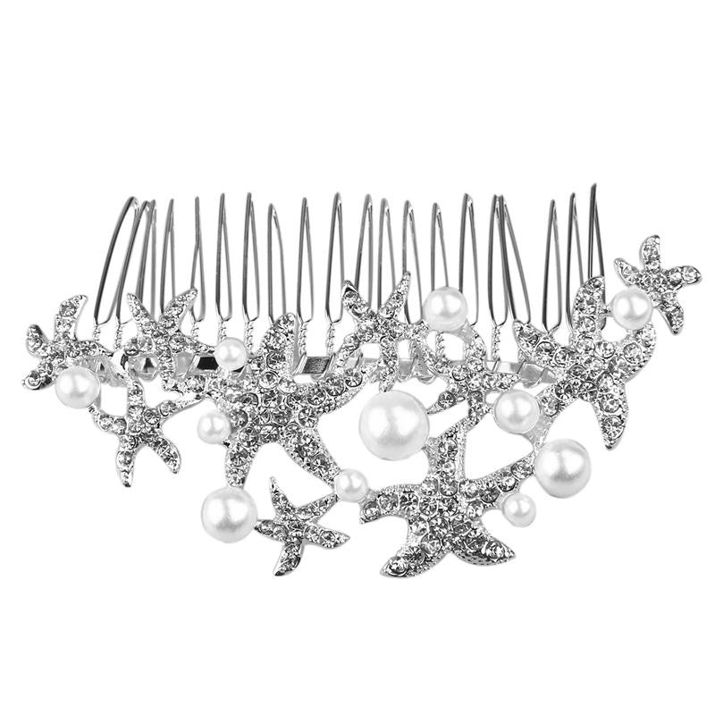 Wedding Comb Prom Bridal Bridesmaid Crystal Hairpiece Accessory - FabFunBride