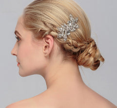 Floral Bridal Hairpiece - FabFunBride