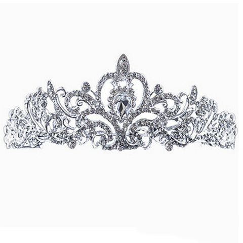 Tiara Hairpiece - FabFunBride
