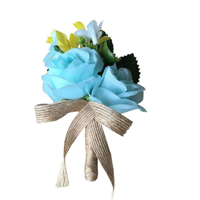 Custom Boutonniere Groom 8 Colours! - FabFunBride