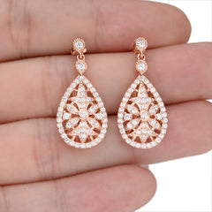 Parma Classic Earrings - FabFunBride