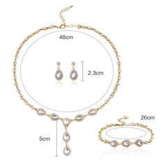 Ferrara Bridal Drop Set - FabFunBride