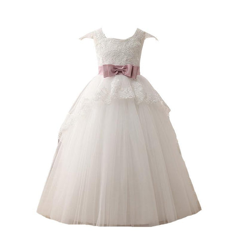 Ball Gown V-Neck Tulle Dress - FabFunBride